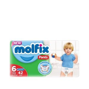 Molfix Pants 6 Extra Large(15+ Kg) 42pcs (Turkey) Smartmom Bangladesh