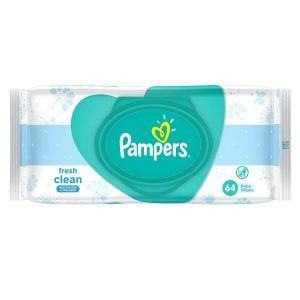 Pampers Fresh Clean Soft & Strong Baby Wipes 64pcs (Spain) Smartmom Bangladesh