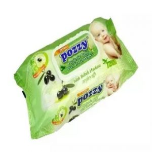Pozzy Wet Wipes Turkey Refil 72pcs Smartmom Bangladesh