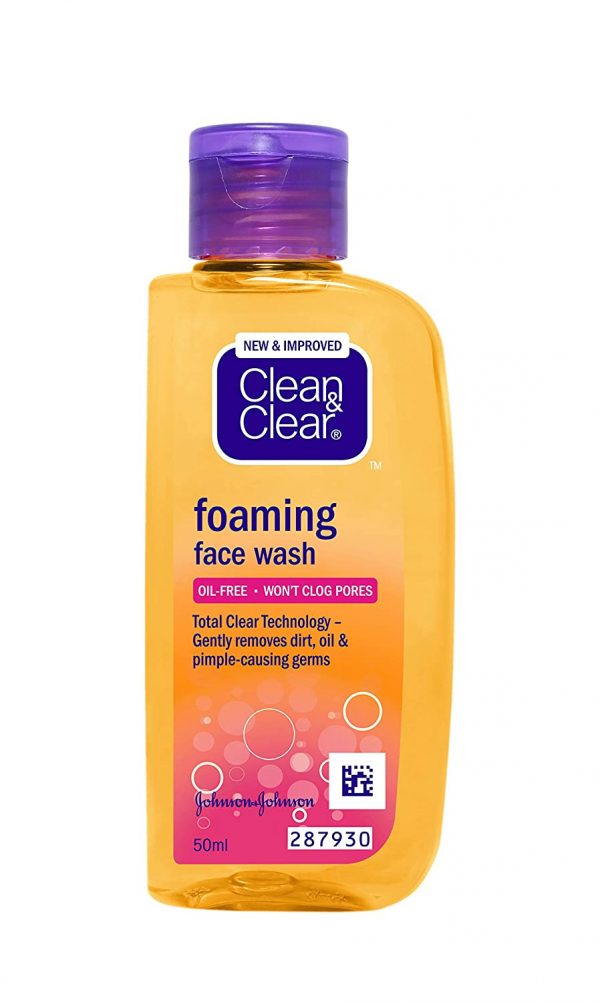 Clean & Clear Facial Wash 50ml Smartmom Bangladesh