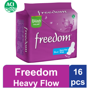 Freedom Heavy Flow Wings 16pads Smartmom Bangladesh