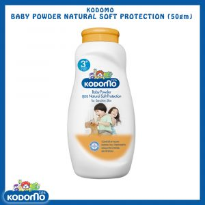 Kodomo Baby Powder (Natural Soft) 50gm Smartmom Bangladesh