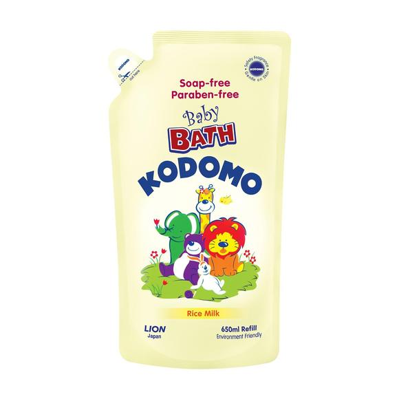 Kodomo Baby Bath (Refill) (Rice Milk) 650ml Smartmom Bangladesh