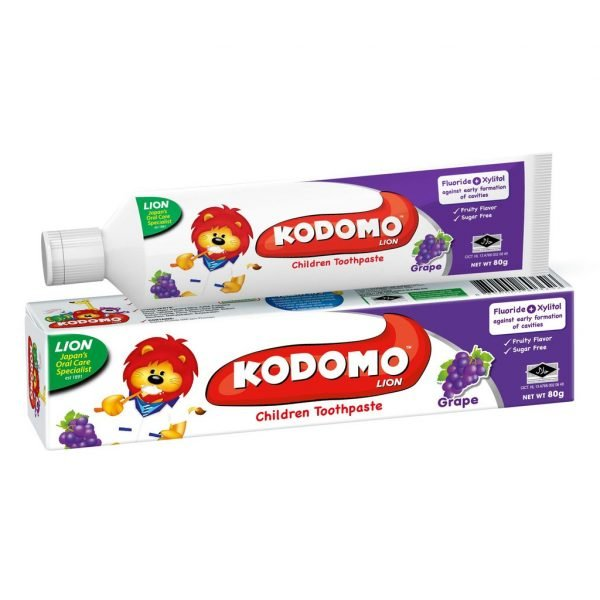 Kodomo Tooth Paste Cream Grape 80gm Smartmom Bangladesh