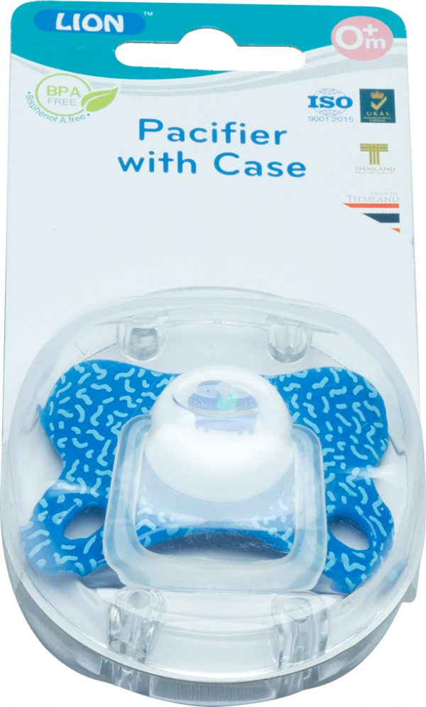 Lion Silicone Pacifier With Case Blister Card Smartmom Bangladesh