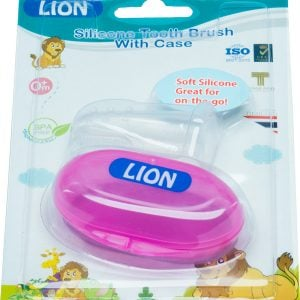 Lion Silicone Tongue & Tooth Brush With Case Blister Card Smartmom Bangladesh