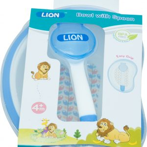 Lion Spoon With Bowl 2pcs Smartmom Bangladesh