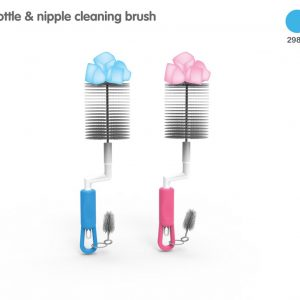 Lion Bottle & Nipple Brush Blister Card Set Smartmom Bangladesh