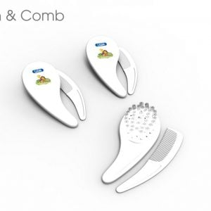 Lion Brush & Comb Blister Card Set Smartmom Bangladesh