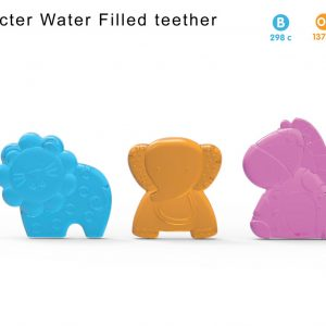 Lion Water Filled Teether Blister Card Smartmom Bangladesh