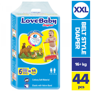 Love Baby Baby Diaper Extra Large (16+ Kg) 44pcs Smartmom Bangladesh