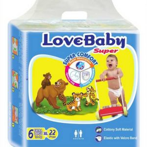 Love Baby Baby Diaper Extra Large (16+ Kg) 22pcs Smartmom Bangladesh