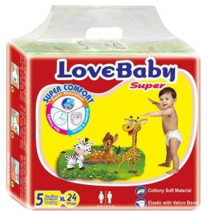 Love Baby Baby Diaper Junior (11-25 Kg) 24pcs Smartmom Bangladesh