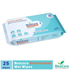NeoCare Disinfectant Wipes 25pcs Smartmom Bangladesh