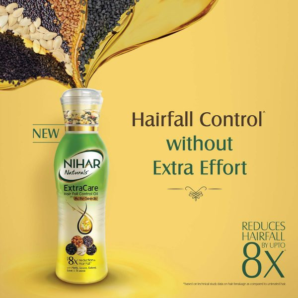 Nihar Anti Hairfall 5 Seeds Hair Oil 100ml Smartmom Bangladesh