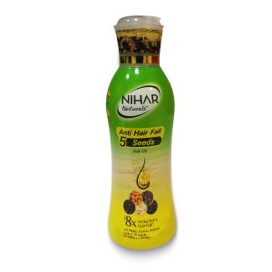 Nihar Anti Hairfall 5 Seeds Hair Oil 200ml Smartmom Bangladesh