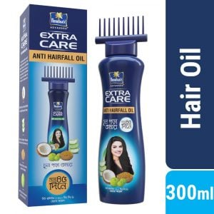 Parachute Hair Oil Anti Hairfall Oil Extra Care 300ml (Root Applier) Smartmom Bangladesh
