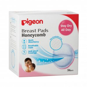 Pigeon Brest Pad Honeycomb (English)36pcs Smartmom Bangladesh