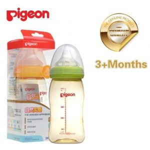 Pigeon Softouch Peristaltic Plus Ppsu Bottle 240ml Smartmom Bangladesh
