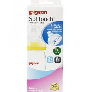 Pigeon Softouch Tm Peristaltic Plus Wn Pp Nursing Bottle 240ml Smartmom Bangladesh