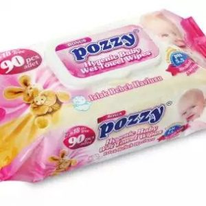 Pozzy Wet Wipes Turkey Refil 90pcs Smartmom Bangladesh