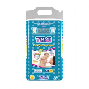 Thai Pant Style Baby Diapers Economic Pack-XL (13-18 Kg) 32pcs Smartmom Bangladesh