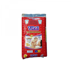Thai Pant Style Baby Diapers Economic Pack-L (9-16 Kg) 34pcs Smartmom Bangladesh