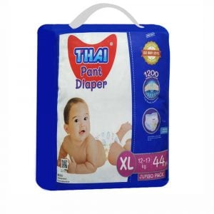 Thai Pant Style Baby Diapers Jumbo Pack-XL (12-17 Kg) 44pcs Smartmom Bangladesh