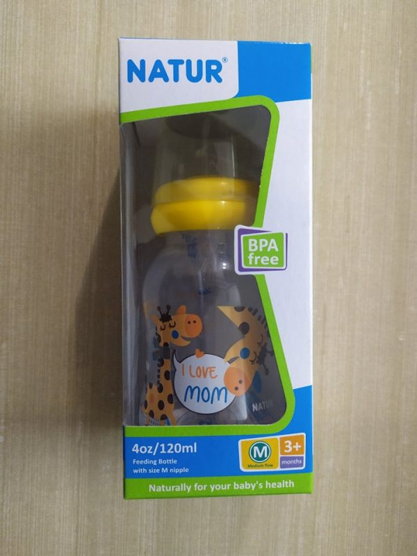 Natur PP Feeding Bottle 4 Oz (RNN-4C2) Smartmom Bangladesh