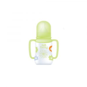 Clariss Baby Shaped Feeding Bottle+ Regular Handle (Green) 4 Oz Smartmom Bangladesh