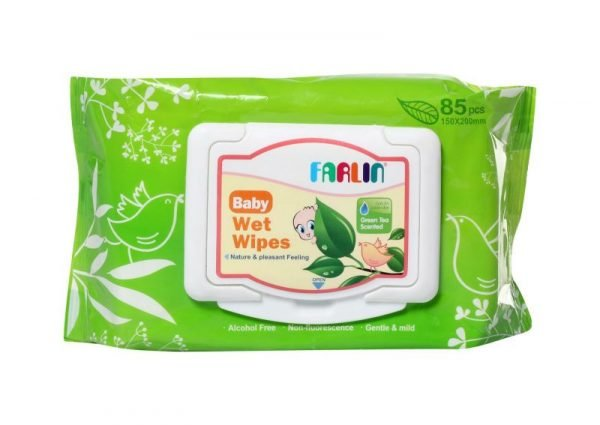 Farlin Baby Wet Wips 85pcs (D) (DT-006) Smartmom Bangladesh