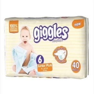 Giggles Jumbo Pack junior Plus (15-30 Kg) 40pcs Smartmom Bangladesh