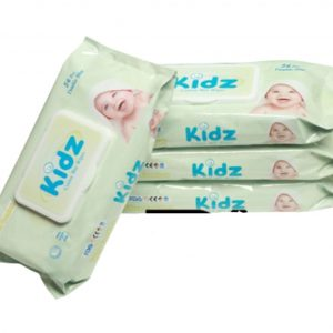 Kidz Cotton Wet Wipes 56pcs Smartmom Bangladesh