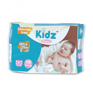 Kidz Diapers NB (0-4 kg) 4pcs Smartmom Bangladesh