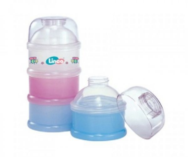 Linco 3 stackable Powder Container Smartmom Bangladesh