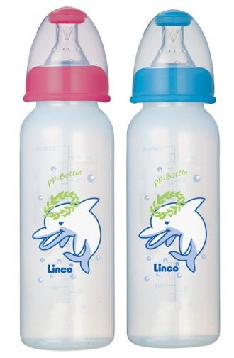 Linco PP Auto Straw Feeding bottle 8 Oz. Smartmom Bangladesh