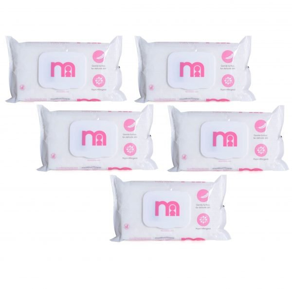 Mother Care Baby Fragrance Free Wipes 60pcs Smartmom Bangladesh