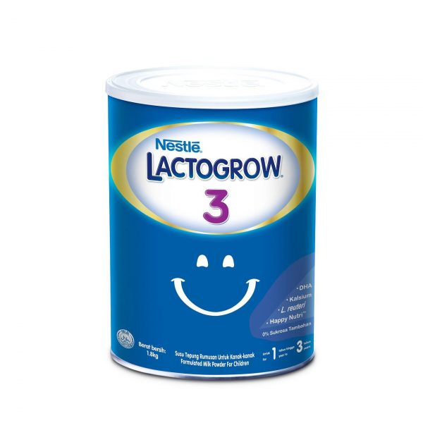 Nestlé LactoGrow 3 (1-3 Years) 1800gm (Phillipines) Smartmom Bangladesh