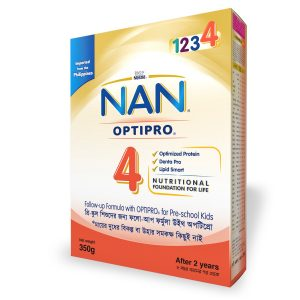 Nestlé NAN Optipro-4 Bib (2 Years +) 350gm Smartmom Bangladesh