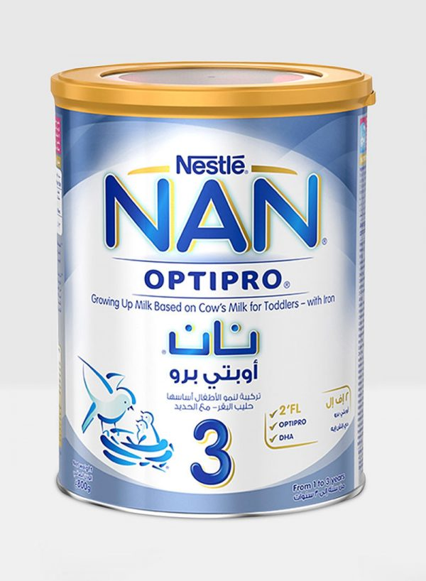 Nestlé NAN Optipro Growing-up Milk-3 800gm (Switzerland) Smartmom Bangladesh