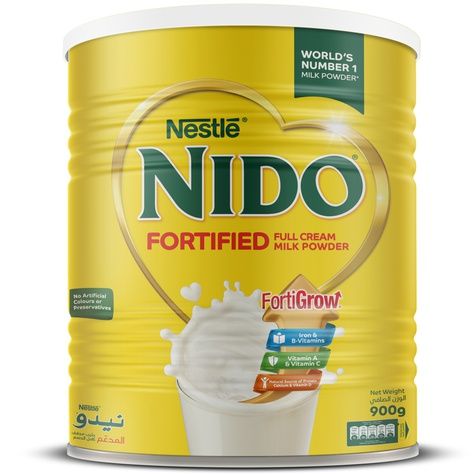 Nestlé NIDO Fortified Full Cream Milk Powder 900gm (Dubai) Smartmom Bangladesh