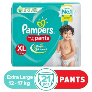 Pampers Value Pack Extra Large 21pcs (India) Smartmom Bangladesh