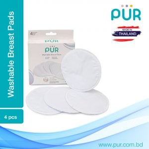 Pur Milksafe Washable Breast Pads 4pcs Smartmom Bangladesh