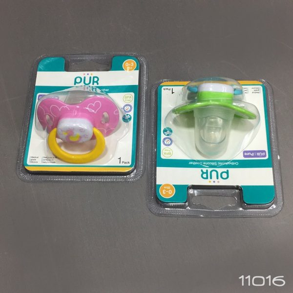 Pur Mister Soothers With Orthodontic Silicone Teats (0-3m+) (In Blister Card) 1pcs Smartmom Bangladesh