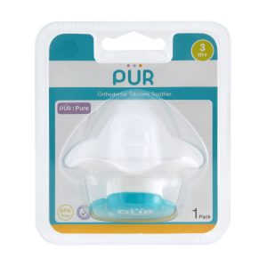 Pur Mister Soothers With Orthodontic Silicone Teats (3m+) (In Blister Card) 1pcs Smartmom Bangladesh