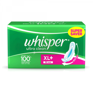 Whisper Ultraclean XL+ 30pcs Smartmom Bangladesh