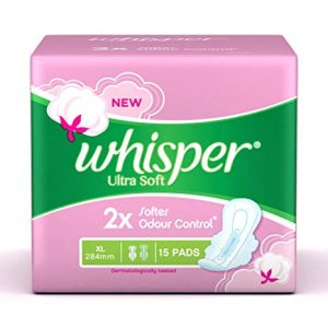 Whisper Ultrasofts XL 15pcs Smartmom Bangladesh