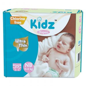 Kidz Diapers NB (0-4 kg) 25pcs Smartmom Bangladesh