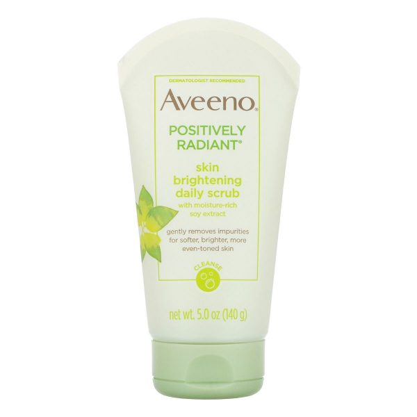 Aveeno – Positively Radiant Skin Brightening Daily Face Scrub – 140gm Smartmom Bangladesh