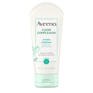 Aveeno – Clear Complexion Cream Face Cleanser With Salicylic Acid – 141g Smartmom Bangladesh